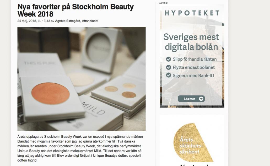 Aftonbladet maj 2018