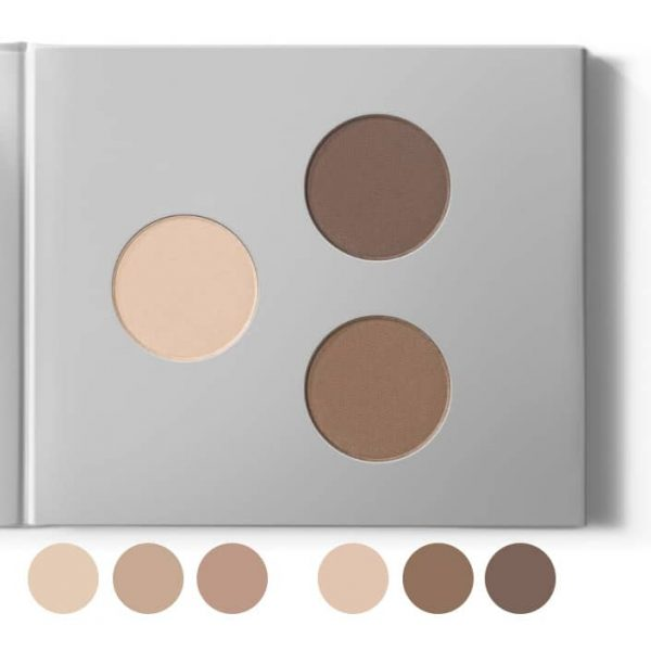 Natural Mineral Eyeshadow- & Eyebrow Kit